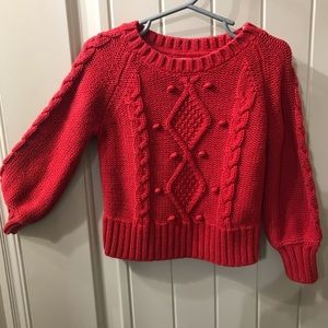 GAP toddler sweater